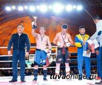 Команда Тувы заняла первое место в общекомандном зачете на Чемпионате Сибирского Федерального Округа по СБЕ ММА