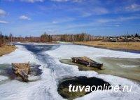 В Тоджинском кожууне Тувы мужчина мог провалиться под лед. Ведутся его поиски