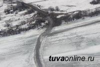 Госавтоинспекция Тувы обследует состояние автомобильных  дорог с помощью авиации