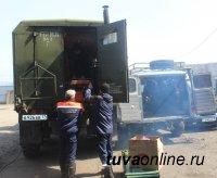 Спасатели республиканского агентства ГО и ЧС выдвинулись на помощь группе в Тере-Хольском кожууне Тувы