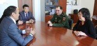 В Туве с рабочим визитом побывал главный курортолог Минобороны РФ