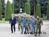 Министр внутренних дел по Республике Тыва побывал с рабочим визитом в Северо-Кавказском регионе