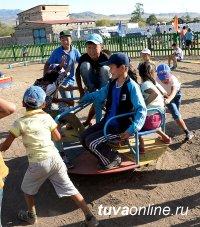 В Международный День семьи Тува подключилась к V Всероссийской акции «Добровольцы - детям»