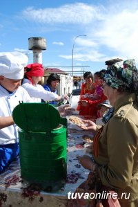 Благотворительный марафон в пользу строительства памятника тувинским добровольцам собрал 1 052 625 рублей