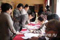 Одним из первых в предварительном голосовании в Туве принял участие спикер парламента Кан-оол Даваа