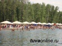 В Кызыле городской пляж готовится к купальному сезону