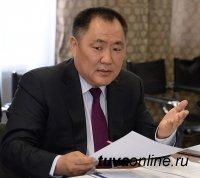 Шолбан Кара-оол дал пресс-конференцию по итогам встречи с Президентом России