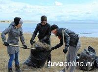 Перед началом турсезона департамент по туризму проводит субботники на достопримечательностях Тувы