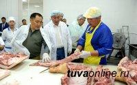 В Туве открыт крупный мясокомбинат, выпускающий 27 видов продукции