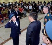 Объявлен набор девочек в 8 класс Кызылского Президентского кадетского училища. Документы принимаются до 20 июня