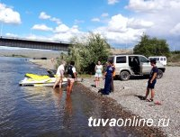 В Кызыле в районе коммунального моста начал функционировать спасательный пост