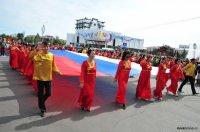 Кызыл готовится к Дню России