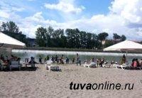 Государственная инспекция по маломерным судам МЧС России дала разрешение на эксплуатацию городского пляжа в Кызыле