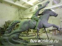 В мастерской г. Улан-Удэ идет работа над памятником тувинским добровольцам