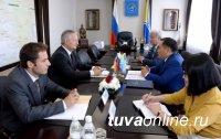 Глава Тувы принял Генерального консула ФРГ в Новосибирске