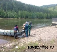 В Туве патрульные группы проводят профилактические мероприятия в рамках акции «Вода – безопасная территория»
