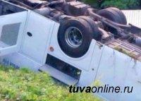 Глава Тувы Шолбан Кара-оол выразил соболезнования в связи с гибелью людей при падении в обрыв рейсового автобуса