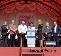Лариса Шойгу приняла участие в мероприятиях, посвящённых 85-летию города Абакана