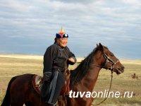 В честь тувинских добровольцев состоялись скачки среди лошадей тувинской породы