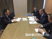 Глава Тувы на встрече с гендиректором «Россетей» согласовал вопрос реконструкции крупной подстанции и электроснабжения частных домов