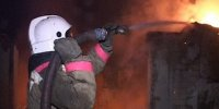На Вавилинском затоне потушен пожар в цехе по изготовлению пластиковых окон