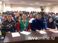 Победителем городского конкурса национальных игр «Алдын Кажык» стала команда Кызылской школы № 3