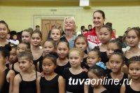 Cветлана Хоркина провела после поездки в Туву Всероссийский день гимнастики в Москве