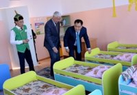 В селах Тувы продолжают открываться детские сады