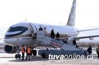 Авиарейсы Кызыл-Красноярск будут выполняться 4 раза в неделю