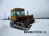 К 193 чабанским стоянкам Бай-Тайгинского района Тувы расчищена от снега дорога