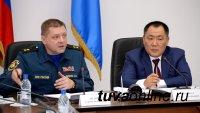 В Туву с рабочим визитом прибыл начальник Сибирского регионального центра МЧС России