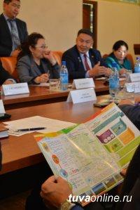 Власти Кызыла провели встречу с губернаторами приграничных аймаков Монголии