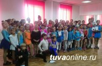 В Кызыле прошли первые закрытые соревнования по фигурному катанию