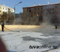 Кызыл: УСК «Субедей» планирует 1 декабря, в День Хоккея, открыть хоккейную коробку во дворе по ул. Кочетова, 95