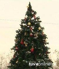 На Левобережных дачах Кызыла откроется Новогодняя елка