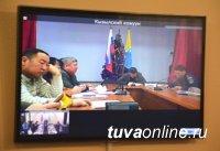 В Правительстве Тувы обсудили вопросы профилактики ЧС и обеспечения пожарной безопасности