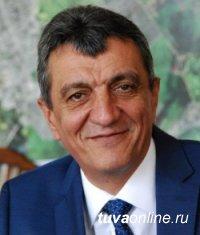 Полпред Президента РФ в СФО Сергей Меняйло поздравил Главу Тувы