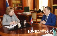 Главе Тувы удалось обсудить вопросы продолжения ряда важных для Тувы проектов на высоком уровне