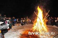 Тува: Определены места для проведения молебнов в ночь накануне Шагаа