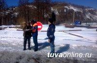 В Туве закрыты две из пяти ледовых переправ