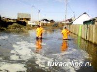 Основной упор направлен на оказание помощи населению поселка Каа-Хем Кызылского района Тувы, которое попало в зону подтопления