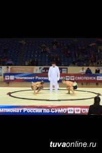 Студенты ТувГУ взяли золото и серебро на первенстве России по сумо среди юношей