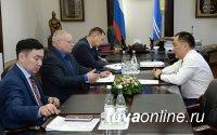 Глава Тувы провел рабочее совещание с руководством Минстроя Тувы