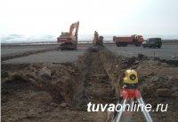 Реконструированы 1500 из 2700 п.м. взлетно-посадочной полосы аэропорта Кызыла