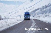 Упрдор «Енисей» информирует о возможных снегопадах до 12 апреля на федеральной автодороге М-54