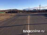 В Кызыле совершен наезд на пешеходов. Водитель с места  происшествия скрылся