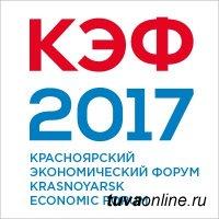 Глава Тувы участвует в работе XIV Красноярского экономического форума