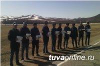 Сотрудники полиции Тес-Хема принимают активное участие в профилактической акции «Чистый лес – территория без огня»
