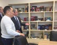 Глава Тувы посетил Дом дружбы народов Красноярского края