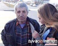 В Туве стартовала традиционная акция «Георгиевская ленточка»